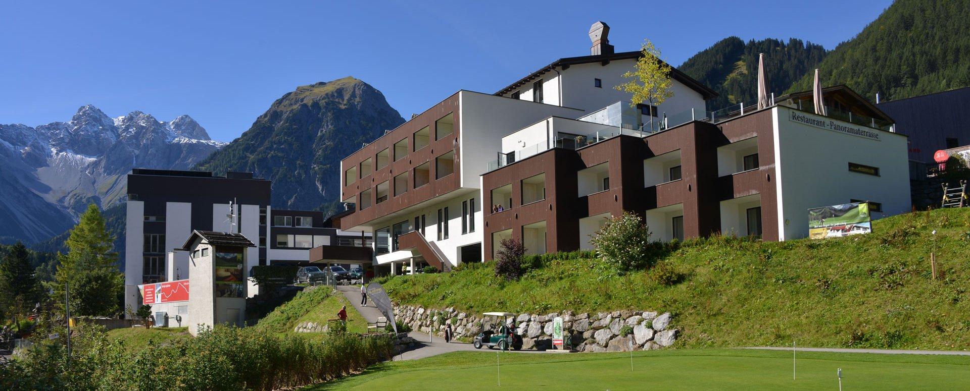 Das 4 hotel zum biken in vorarlberg hotel sarotla for Designhotel vorarlberg